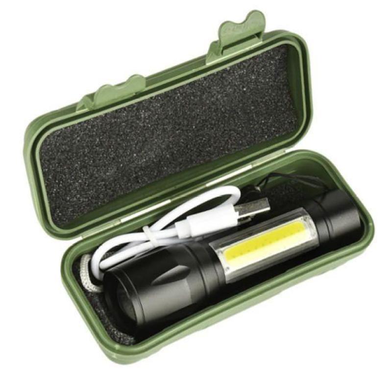 Đèn Pin Siêu Sáng Mini T1 Cao Cấp, hàng nhập khẩu, Chống Nước Full Box