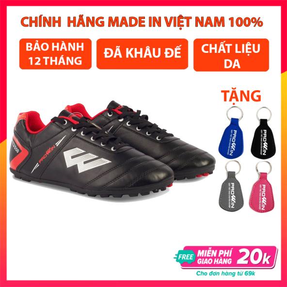 Giày đá bóng trẻ em Prowin S50 mẫu mới , giày đá banh sân cỏ nhân tạo , đã khâu đế giá rẻ