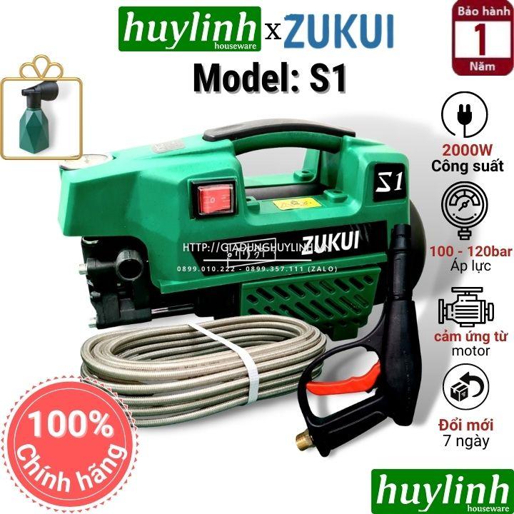 [HCM]Máy rửa xe Osaka 2000W - Zukui S1 S2 S3 - Tặng kèm bình xà bông