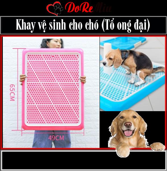 Doremiu- Khay vệ sinh chó - loại khay tổ ong siêu to khổng lồ cho chó đến 35kg