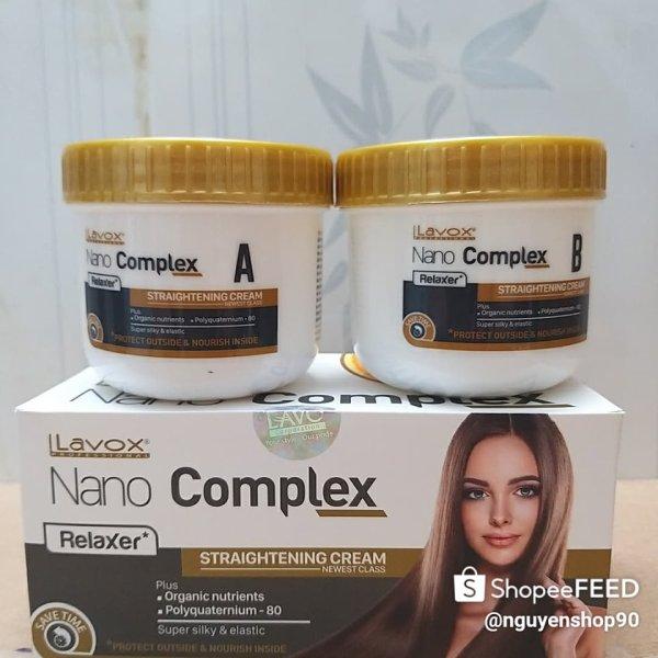 Thuốc duỗi tóc LaVox NaNo COMPEX 150 ml cao cấp