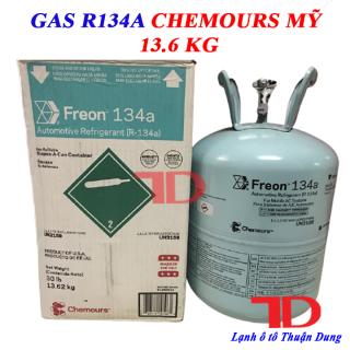 Gas lạnh ô tô R134 Chemours Mỹ 13.6kg, Môi chất lạnh R134 thumbnail