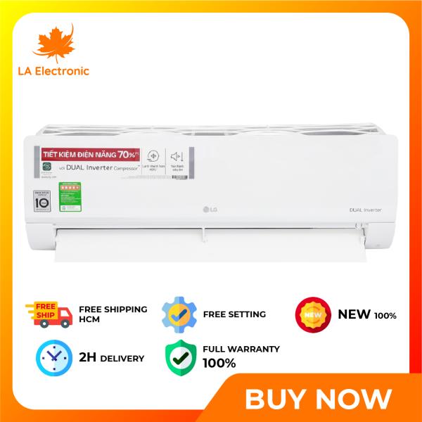 Trả Góp 0% - Máy lạnh - LG Inverter 1.5 HP V13ENS air conditioner, thiết kế thông minh, công nghệ hiện đại, hoạt động mạnh mẽ và bền bỉ, có chế độ bảo hành và xuất xứ rõ ràng - Miễn phí vận chuyển HCM