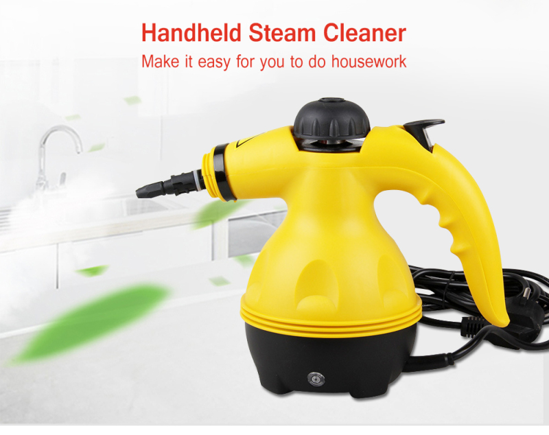 Electric Steam Cleaner Multi-Purpose Pressurized Handheld Steamer Household Cleaner All-In-One Attachments Kitchen Brush Tool