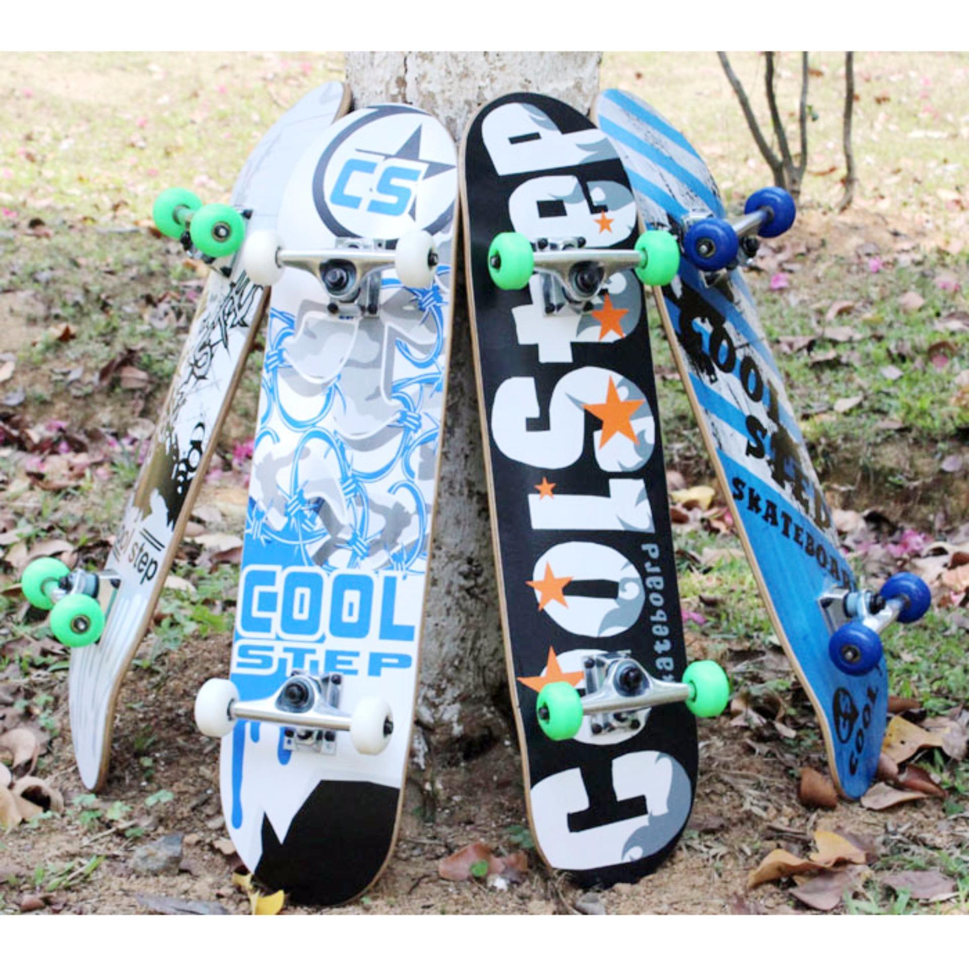 Mua Các Loại Ván Trượt -Cách Chơi Ván Trượt -Cách Chọn Ván Trượt Cho Người Mới Chơi -Ván trượt skateboard thể thao chất liệu gỗ phong ép cao cấp 8 Lớp