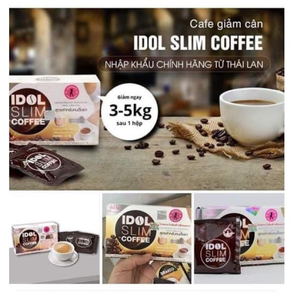 CÀ PHÊ GIẢM CÂN IDOL SLIM COFFEE 3IN1