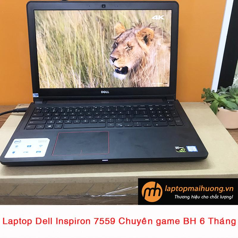 Dell Inspiron 7559 core i5 6300HQ/ 4Gb/ 128Gb+ 500Gb/ Nvidia GTX 960M/ 15.6 Full HD , laptop chơi game, laptop gaming giá rẻ laptopmaihuong