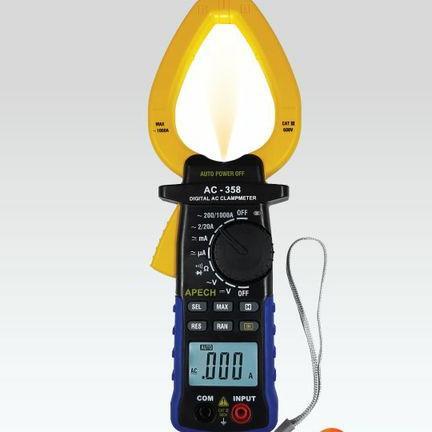 Ampe kìm đo dòng AC APECH AC-358 (1000A)