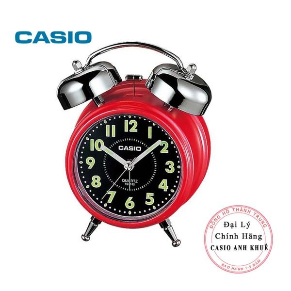 Đồng hồ để bàn Casio TQ-362-4ADF có đèn chuông báo thức, dạ quang ( Kích thước 13.6×10.6×6 cm ) bán chạy