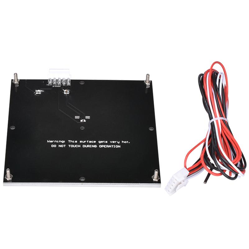 Giá 3D Printer Accessories Aluminum Substrate Hot Bed with PCB Heating Platform 120x120Mm