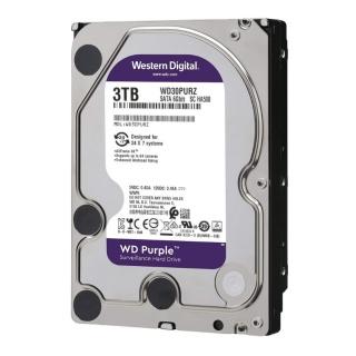 Ổ cứng HDD WD TÍM 250GB 500GB 1TB 3TB chuyên dụng cho đầu ghi hình camera hoặc máy tính PC thumbnail