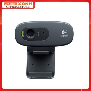 Webcam có mic Học trực tuyến, Live Stream Học Online Dùng Cho Máy Tính, Laptop Webcam Logitech C270 Hàng Nhập Khẩu thumbnail