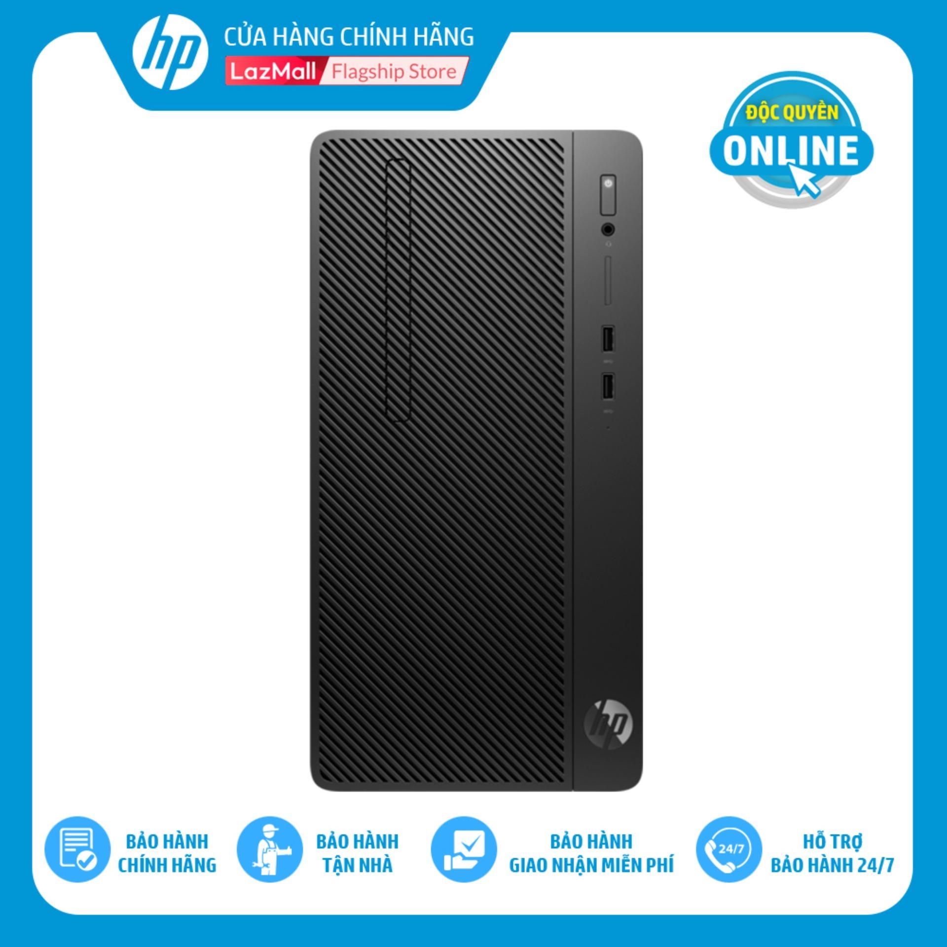 Máy Tính để Bàn HP 280 G4 Microtower (Intel Core I5-8500/ 8GB RAM DDR4/ 1TB HDD/DOS/8JU09PA) - Hàng Chính Hãng Giá Cực Cool