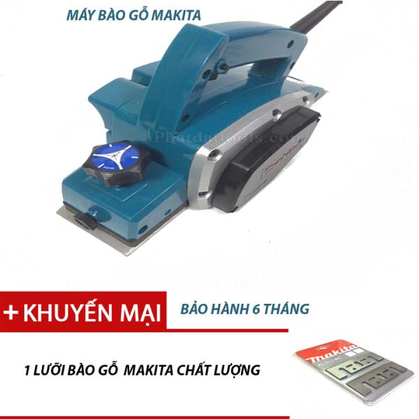 Máy bào gỗ Makita N1900B tặng kèm thêm 1 lữoi bào gỗ makita chất lượng.