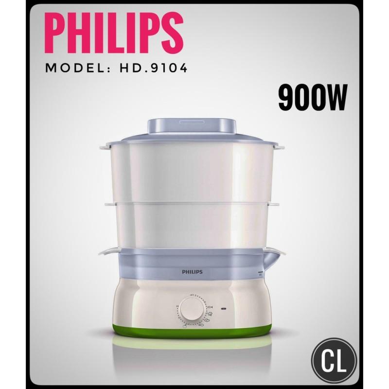 Nồi hấp 2 tầng Philips HD9104 - Hàng nhập khẩu