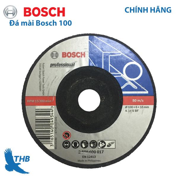 Bộ 5 lưỡi đá mài sắt Bosch 100x6x16mm