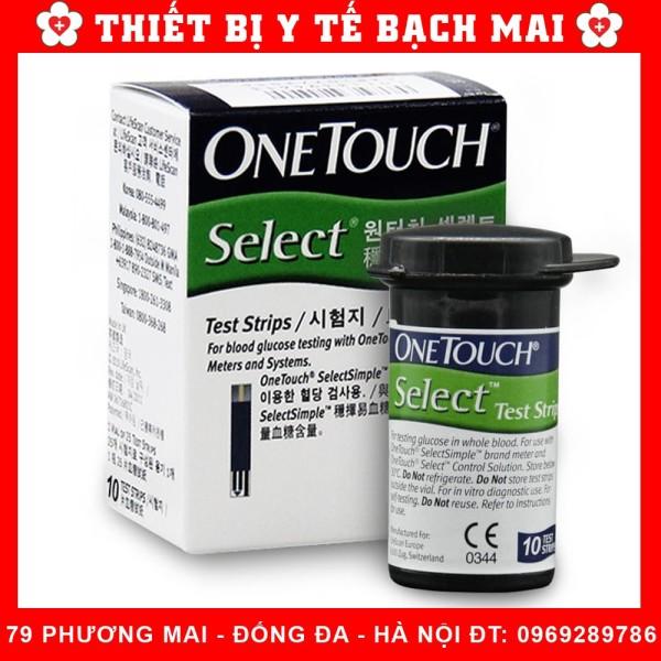Nơi bán Que Thử Đường Huyết Onetouch Select  10 que