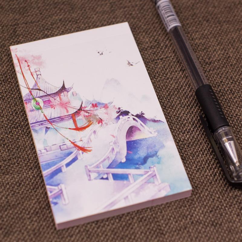 Mua Tập giấy Note phong cách hoài cổ màu sắc tươi sáng, tiện dụng, nhỏ gọn dễ dàng mang theo bên mình. Phù hợp cho học sinh, sinh viên, nhân viên văn phòng