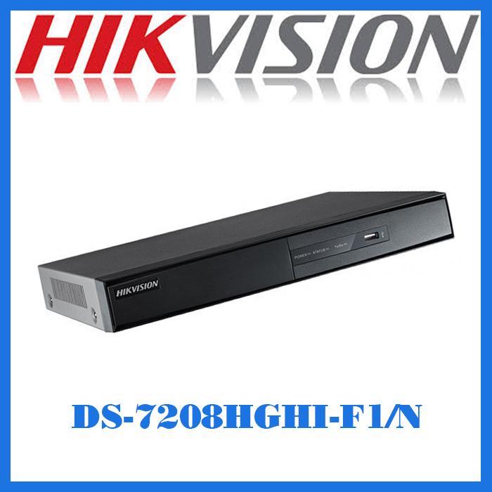 Đầu ghi hình HD-TVI 8 kênh TURBO 3.0 HIKVISION DS-7208HGHI-F1