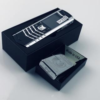 Điện thoại doanh nhân siêu sang trọng, siêu đảng cấp, hàng nhập new fullbox TẶNG zippo cao cấp ( Hình chụ thực tế) thumbnail