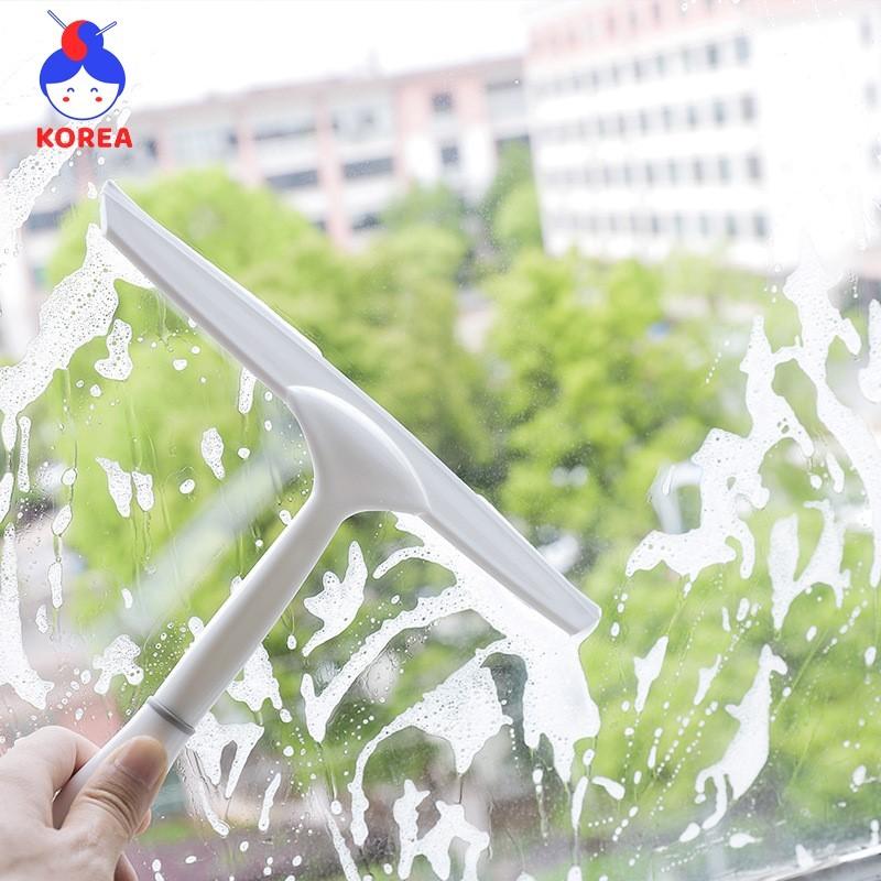 (Mới) Cây lau kính đa năng có tay cầm và quai móc siêu bền, chắc chắn GIA DỤNG KOREA