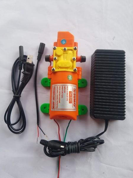 Bơm Sumo cam kèm nguồn 12V5A Bơm mini 12V chất lượng giá phải chăn tặng kèm lọc rác mini sử dụng tưới cây phu sương rửa xe ...