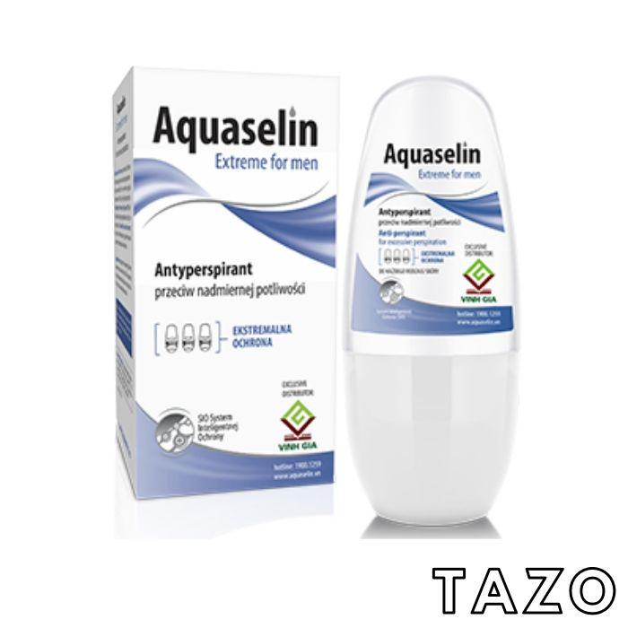 Aquaselin - Lăn nách ngăn tiết mồ hôi và khử mùi dành cho nam - 50ML