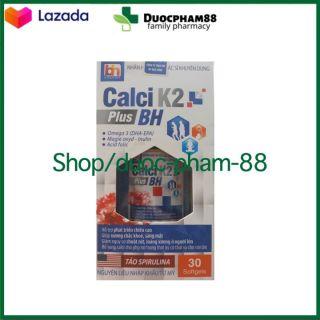 HSD 2023 - CALCI K2 plus BH giảm chuột rút, loãng xương +omega 3, acid folic, tảo bổ sung cho phụ nữ có thai và cho con bú- Hộp 30 viên - Chuẩn BYT - HSD 2023 thumbnail