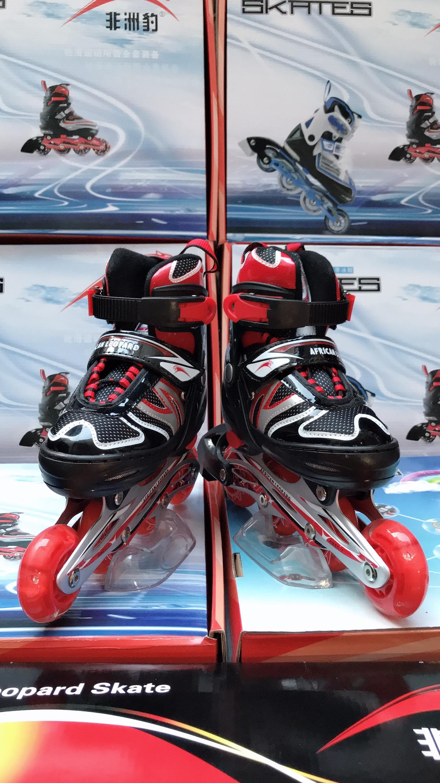 Mua Giày Patin Inline Skates AFRICAN LEOPARD mẫu mới mùa hè 2020 siêu hot