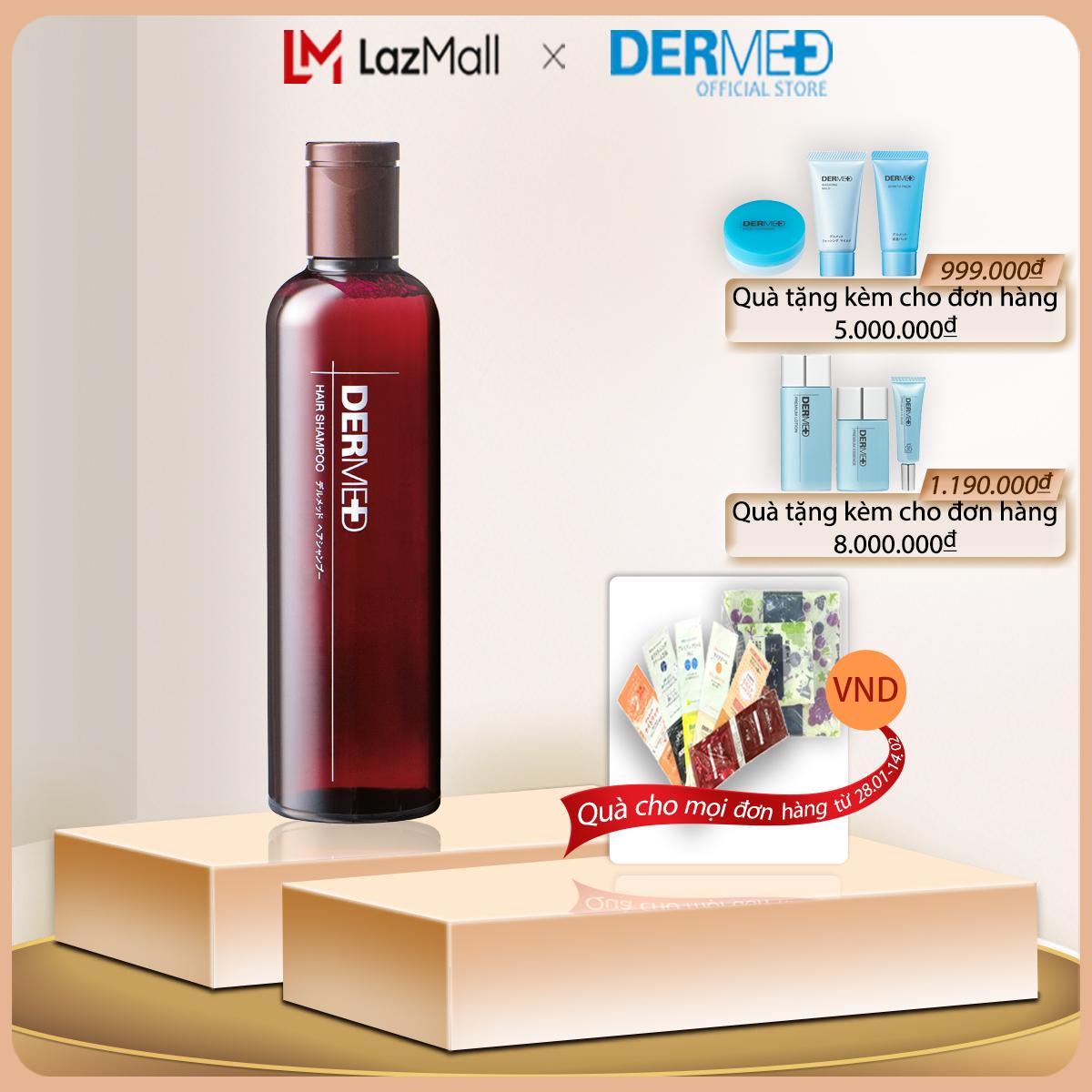 Dầu gội phục hồi và ngăn rụng tóc Dermed Hair Shampoo 240ml