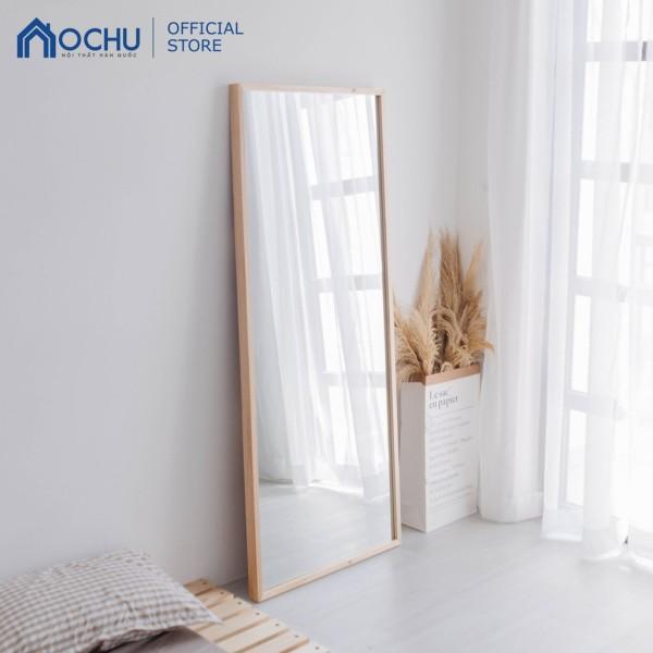 Gương Đứng Soi Toàn Thân Khung Gỗ OCHU - Mirror L - Natural