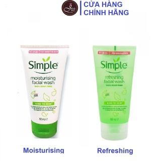 [Mẫu Mới] Sữa Rửa Mặt Dạng Gel Simple Facial Wash 150ml thumbnail