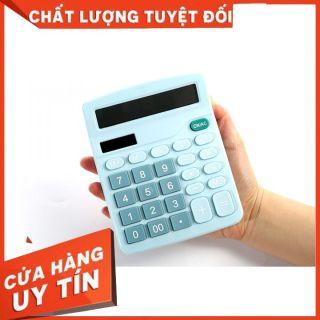 [SALE] - Máy Tính Cầm Tay LCD 12 Số - Sử dụng pin mặt trời - Không cần pin thumbnail