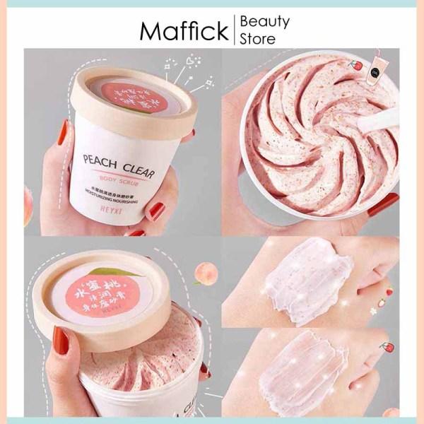 [HCM]Tẩy tế bào chết body đào heyxi loại bỏ da sạm màu cho làn da trắng hồng tự nhiên giảm thâm hiệu quả HTTBC1 Maffick