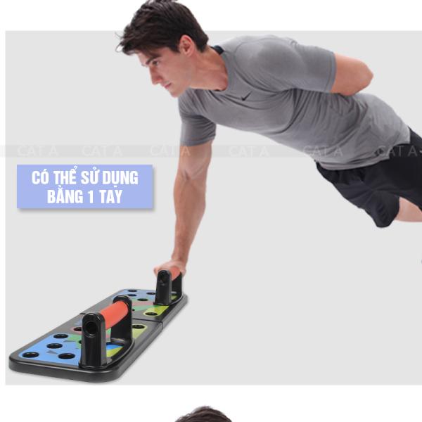 Bảng giá Dụng cụ tập thể hình, hỗ trợ chống đẩy đúng cách - hít đất 9 in1 đa năng - dụng cụ hỗ trợ tập gym, tập thể dục hiệu quả