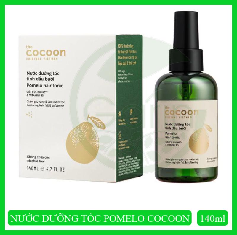 [GIẢM RỤNG TÓC] Nước dưỡng tóc tinh dầu bưởi Pomelo Cocoon 140ml phục hồi tóc hư tổn chuyên sâu