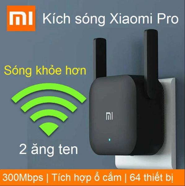 Bộ kích sóng wifi Xiaomi Repeater Pro- Hàng chính hãng tốc độ cao