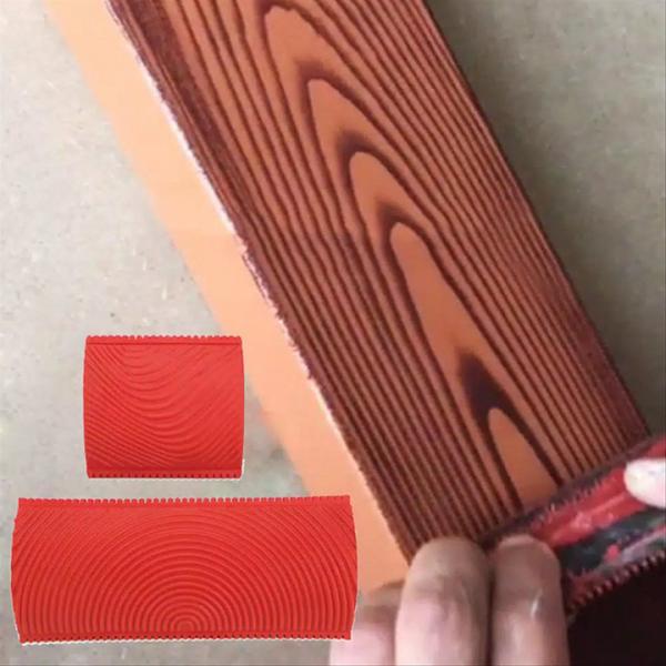 Bộ 2 cọ tạo vân gỗ làm sơn giả gỗ kiểu mới