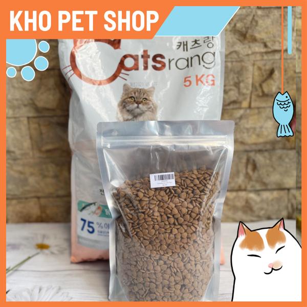 (Túi 1kg)Thức ăn mèo Catsang