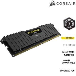 Thanh ram PC CORSAIR VENGEANCE LPX 8GB DDR4 1x8G 3000MHz CMK8GX4M1D3000C16 thumbnail
