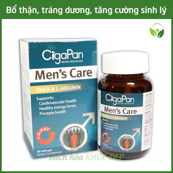 Viên uống tăng cường sinh lý nam bổ thận tráng dương Nhung hươu CigaPan Men Care - Hộp 30 viên chuẩn GMP Bộ Y Tế giá rẻ