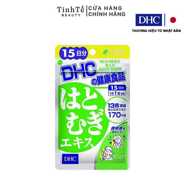 Viên uống sắng da DHC Nhật Bản Adlay Extract 15 Ngày (15 Viên) giá rẻ