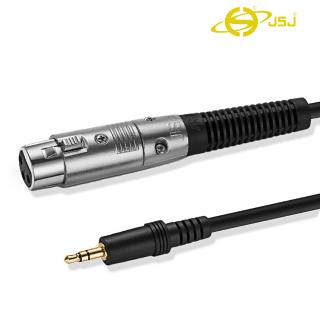 Dây canon (XLR) cái ra 3 ly (3.5mm) đực JSJ 807A dài 1m - 5m sử dụng chất liệu PVC cao cấp tạo cảm giác cầm tay thoải mái dễ dàng tháo lắp lớp lõi đồng nguyên chất không oxy hóa cho âm thanh trung thực có độ nét cao chống nhiễu thumbnail