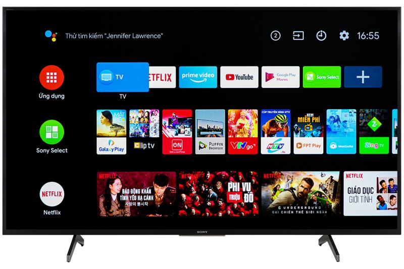 Bảng giá Android Tivi Sony KD-55X7500H 4K 55 inch  Mới 2020 ( GIAO TOÀN QUỐC,miễn phí vận chuyển lắp đặt tại Hà Nội )