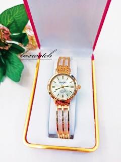 fullbox Đồng hồ nữ Halei sapphire quart ( tặng kèm Pin+ hộp nhung sang trọng) thumbnail