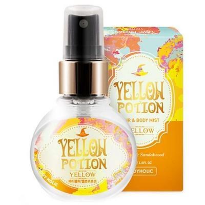 Xịt Thơm Toàn Thân Và Tóc Body Holic - Yellow Potion nhập khẩu