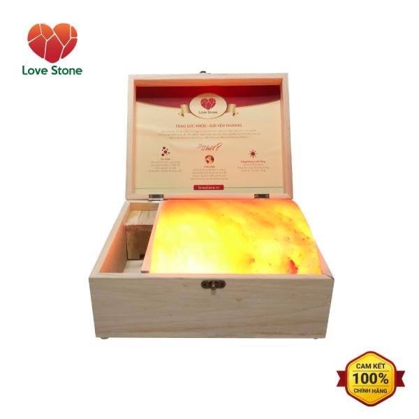 Hộp Đá Muối Massage Chân Himalaya Love Stone Standard VIP nhập khẩu