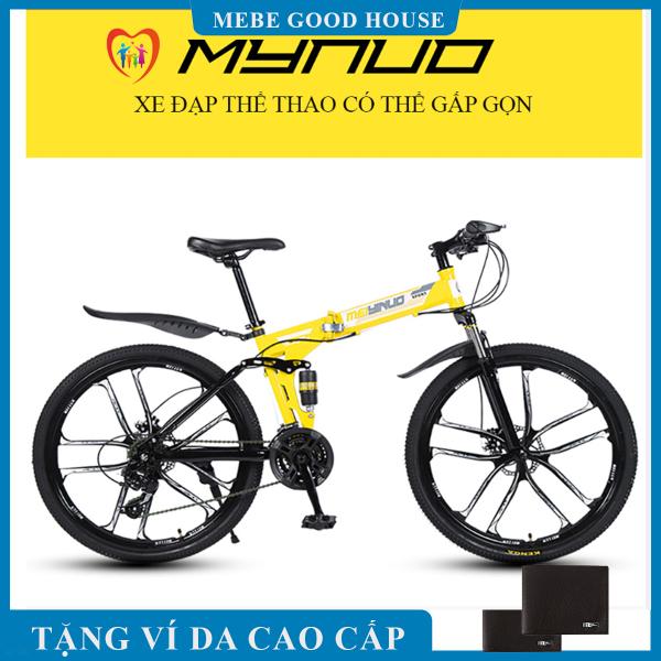 Mua Xe đạp thể thao, xe đạp địa hình gấp gọn mâm đúc, khung thép siêu bền, phanh đĩa 7 cấp độ, phù hợp với mọi lứa tuổi cả nam và nữ. Bảo hành 3 năm lỗi 1 đổi 1 trong 7 ngày