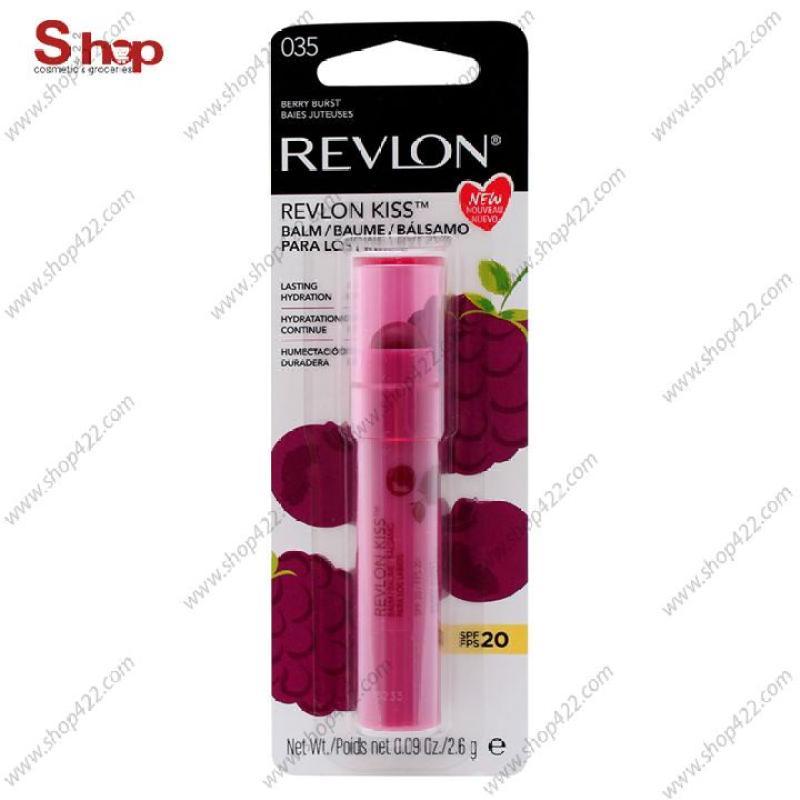 Son Dưỡng Môi Revlon Kiss Balm Berry Burst SPF20