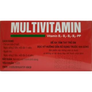 viên uống Multivitamin - Giúp bổ sung Vitamin B1, B2, B5,B6,PP, tăng cường sức khỏe, tăng cường hấp thu, hồi phục cơ thể- hộp 100 viên 6